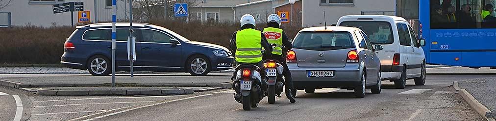 Förarbevis för moped klass II